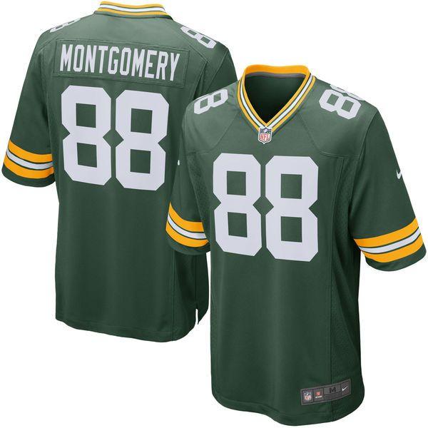 Nike NFL Green Bay Packers Greg Jennings Men's Replica Jersey