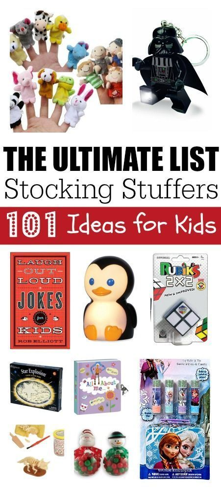 101 Best Stocking Stuffers for Kids: The Ultimate Stocking Stuffers List