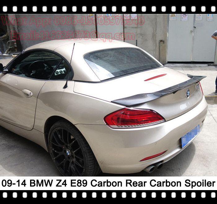 Z4 Trunk Spoiler Z4 E89 Rear Wing Renntech Style Rear Boot Lid For Bmw 23i 28i 30i 35i Bmw Car Door Trunks