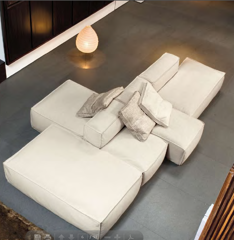 Vitacon By Joao Armentano Contemporary Living Room Furniture Sofa Design Modular Sofa