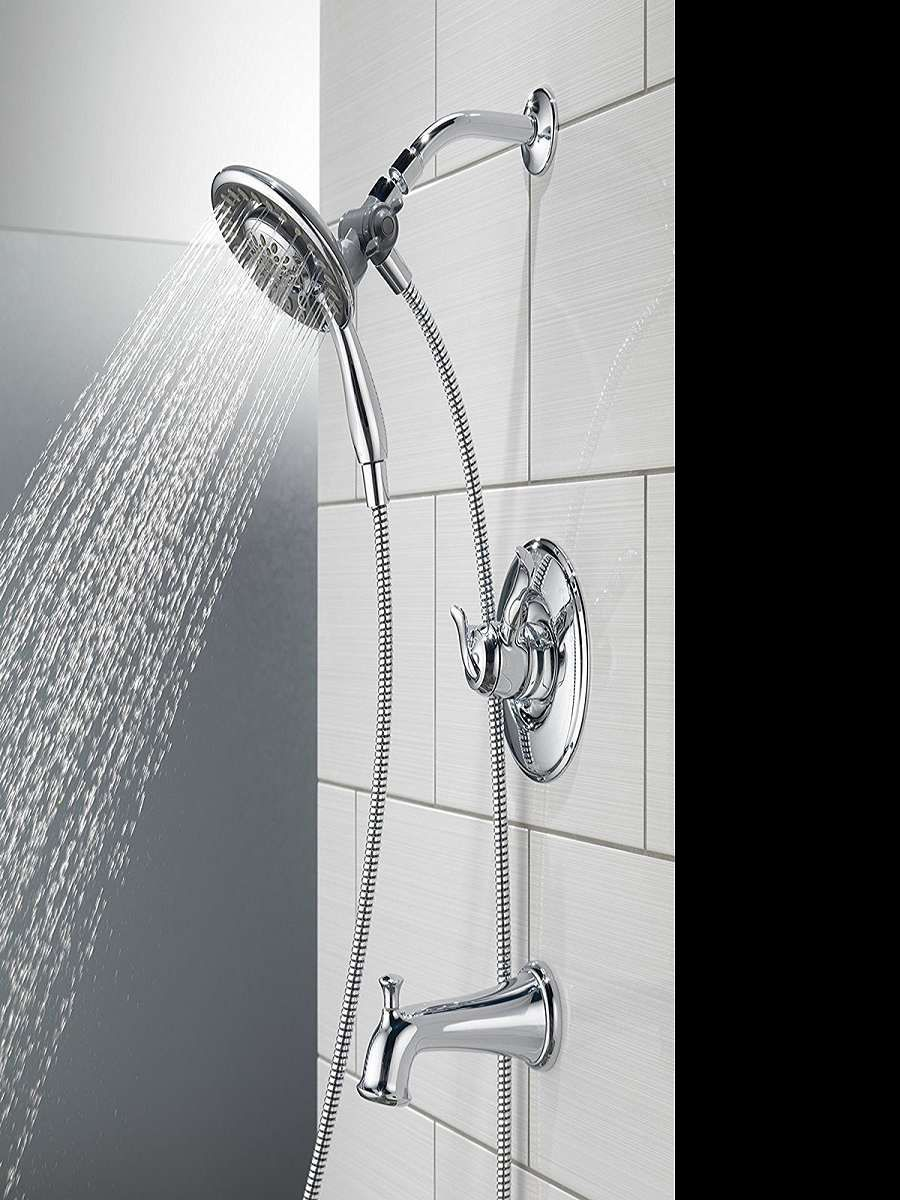 Delta In2ition 2 In 1 Shower Head With Images Shower Heads