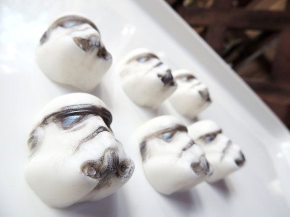 STORM TROOPERS SOAP  Set of 6  Ode to Star Wars by thecharmingfrog, $4.80