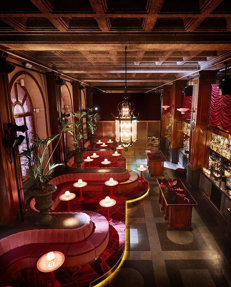 Bon Bon Bar Restaurang Konstruktion Bar Design Cafe Design