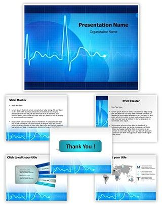 Electrocardiogram Powerpoint Template Is One Of The Best