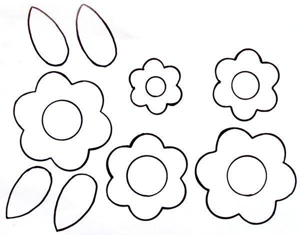 çiçekkalıpları Kalıplar Okulöncesiçiçekçiçekboyamaboyama Kes