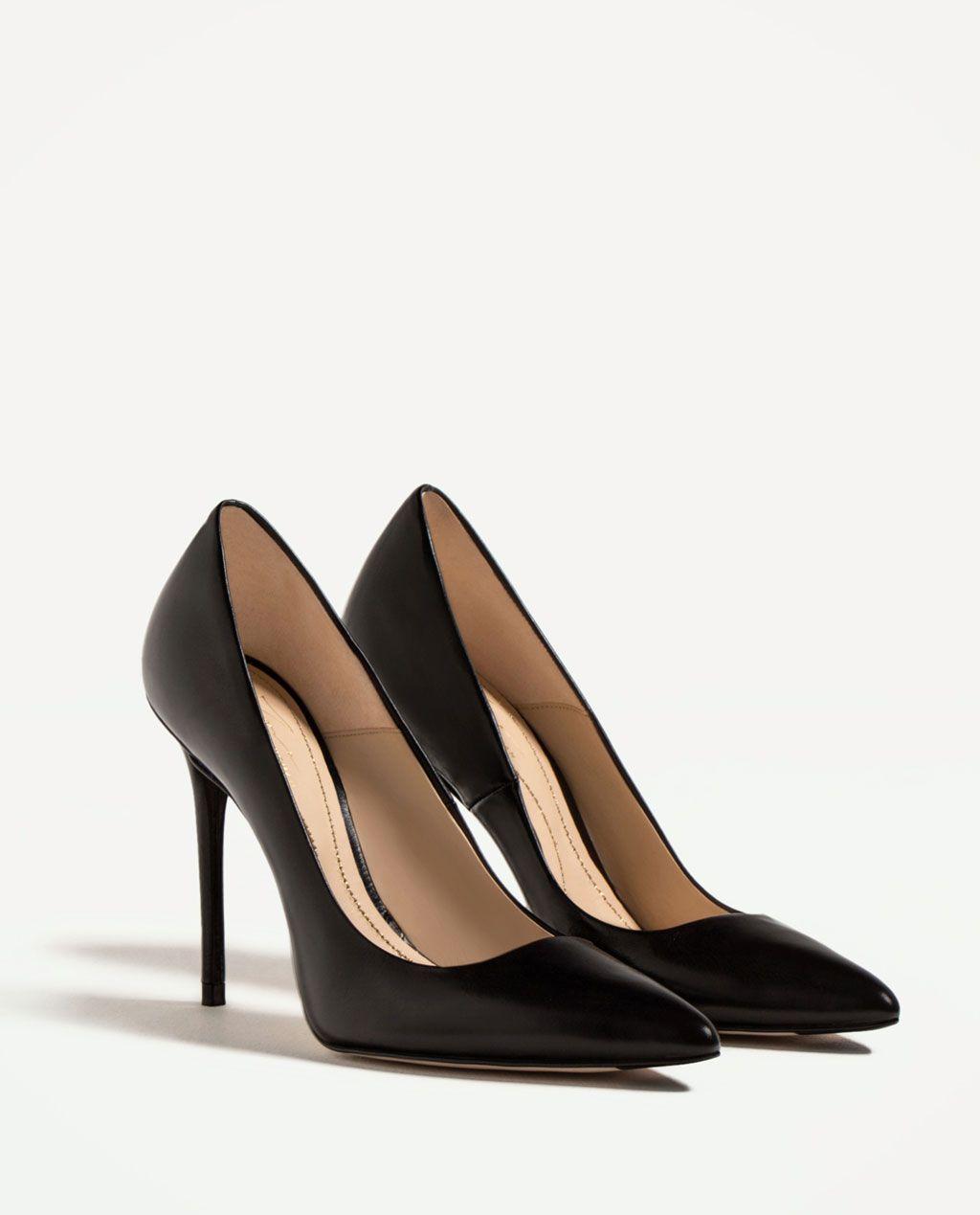 Piel Zapatos Tac Ón Ver Todo Zapato Edition Limited Zara Mujer qA7xwxFT e60e4828dca0a
