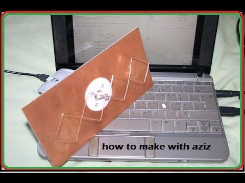how to make powerful long range wifi antenna at home - homemade long