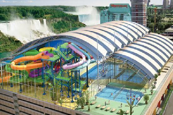 Fallsview Indoor Waterpark Niagara Falls Hotels Niagara Falls Park