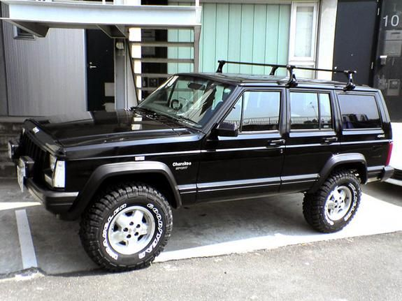 Shiraishi S 1996 Jeep Cherokee In Kawasaki City Un Jeep