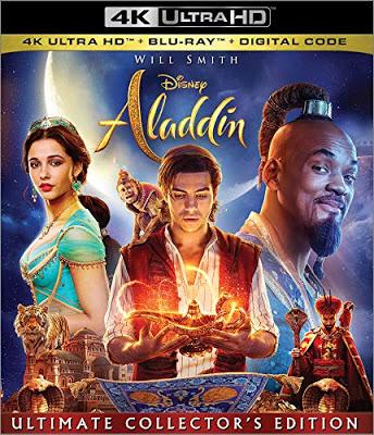Dvd Blu Ray Aladdin 2019 Starring Will Smith And Naomi Scott Aladdin Dvd Aladdin Movie Aladdin