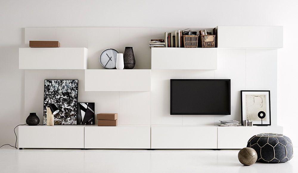 moderne aufbewahrungsm bel von boconcept interior pinterest wohnzimmer wohnideen und m bel. Black Bedroom Furniture Sets. Home Design Ideas