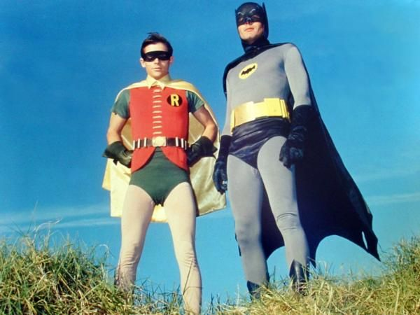 Batman is a 1960s American television series, based on the DC comic book character of the same name. It stars Adam West as Batman and Burt Ward as Robin — two crime-fighting heroes who defend Gotham City It aired  January 12, 1966 to March 14, 1968.