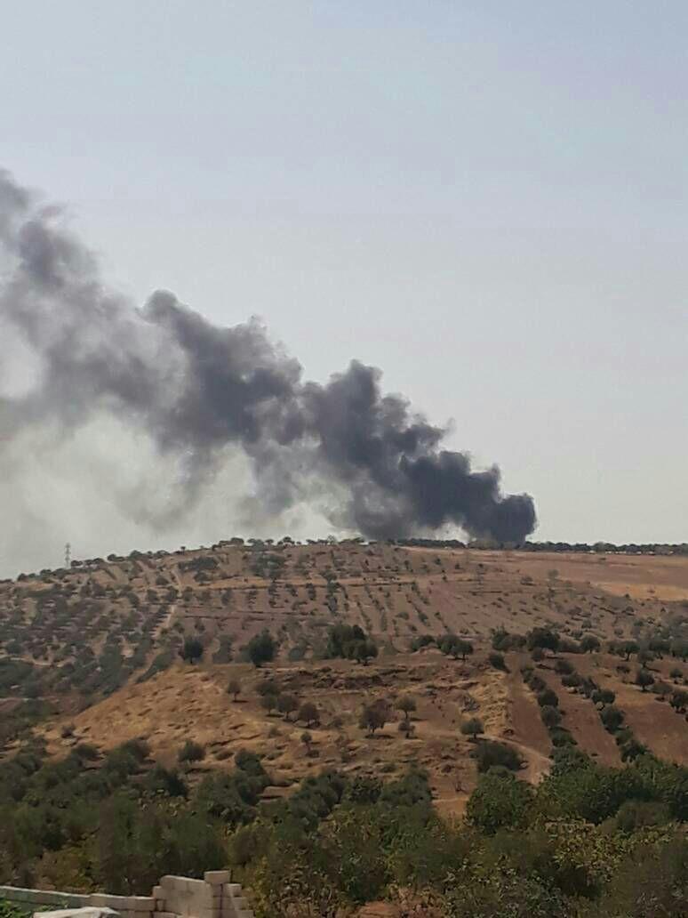 More Airstrikes On Kafr Sajna Now Syrian Civil War Syria Syria