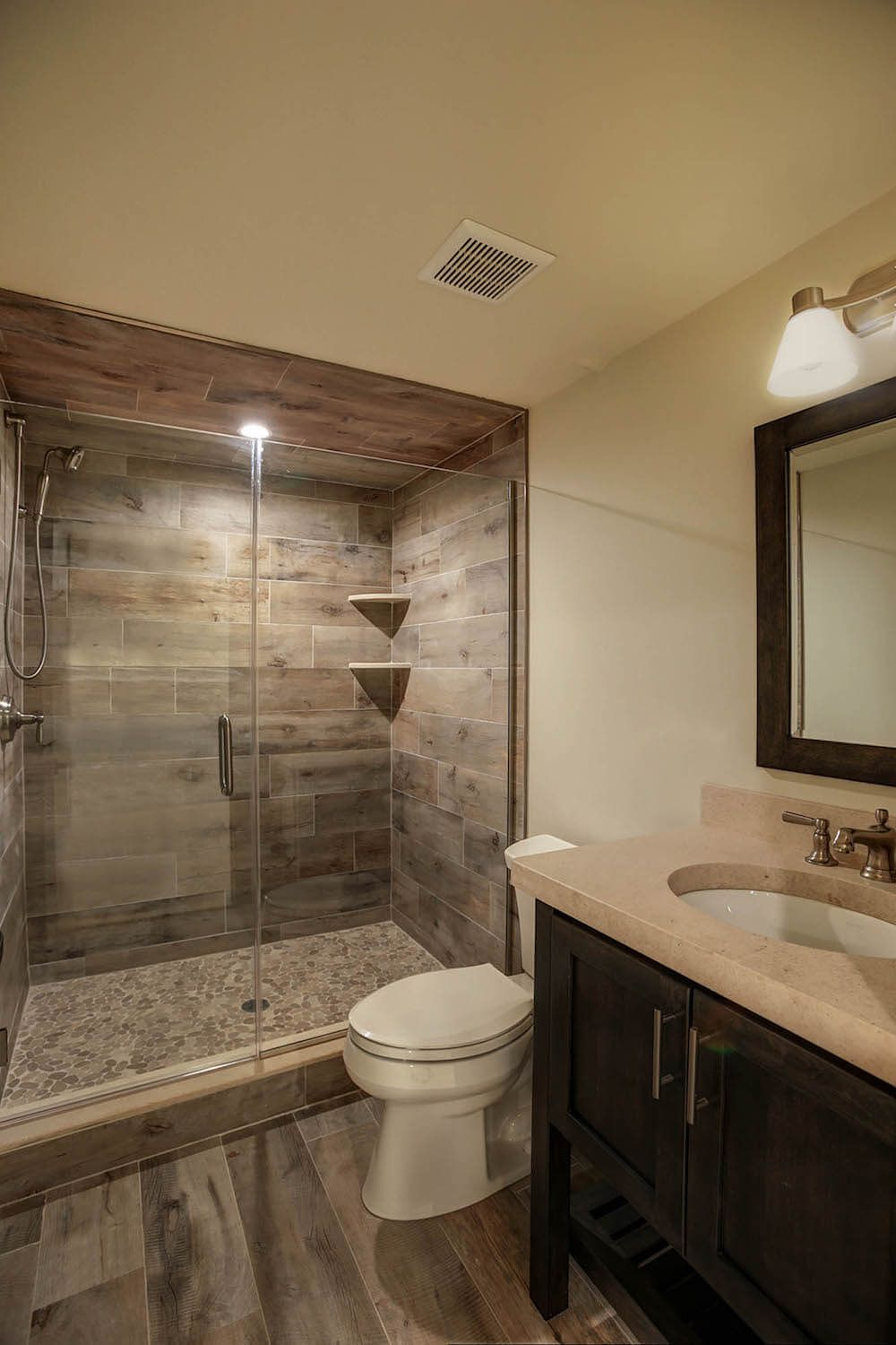 How Much Does It Cost To Finish A Basement Small Bathroom Redo