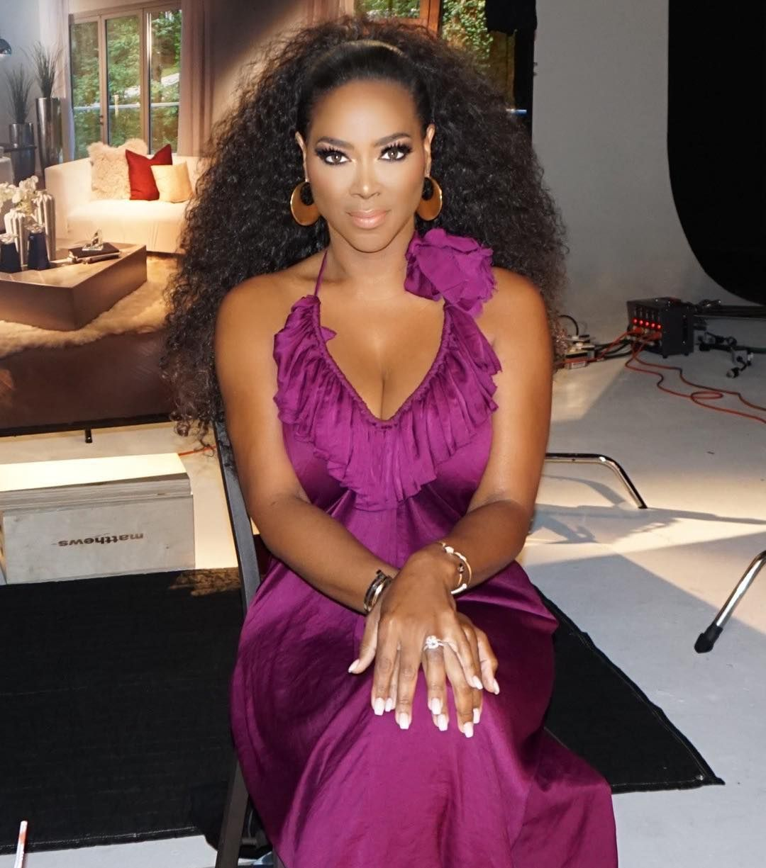 Kenya Moore's Fans Can See Her Today On 'The Real'