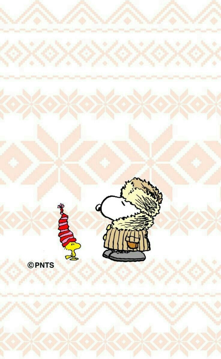 Wrapped Up For The Winter Snoopy Wallpaper Snoopy Snoopy Love