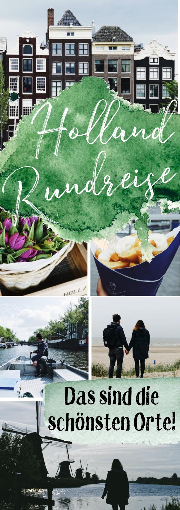 Holland Rundreise - Städte in Niederlanden, Rundreise, Amsterdam