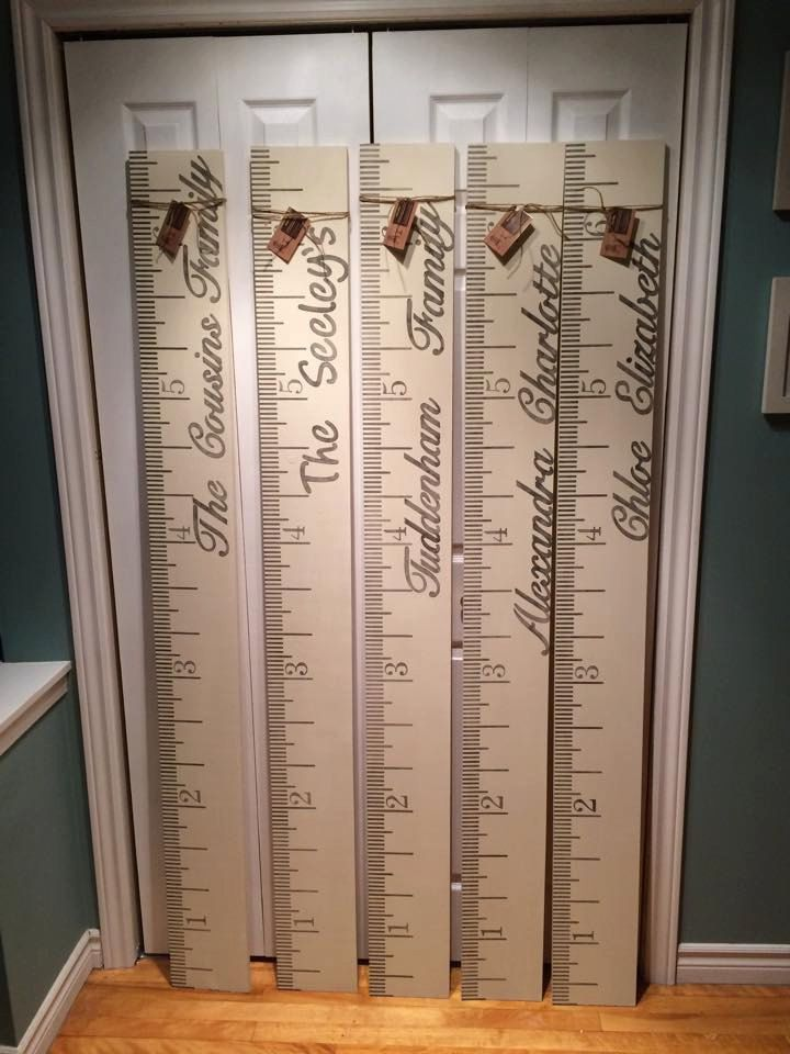 Hand Painted Personalized Kids Wooden Growth Chart Annie Sloan