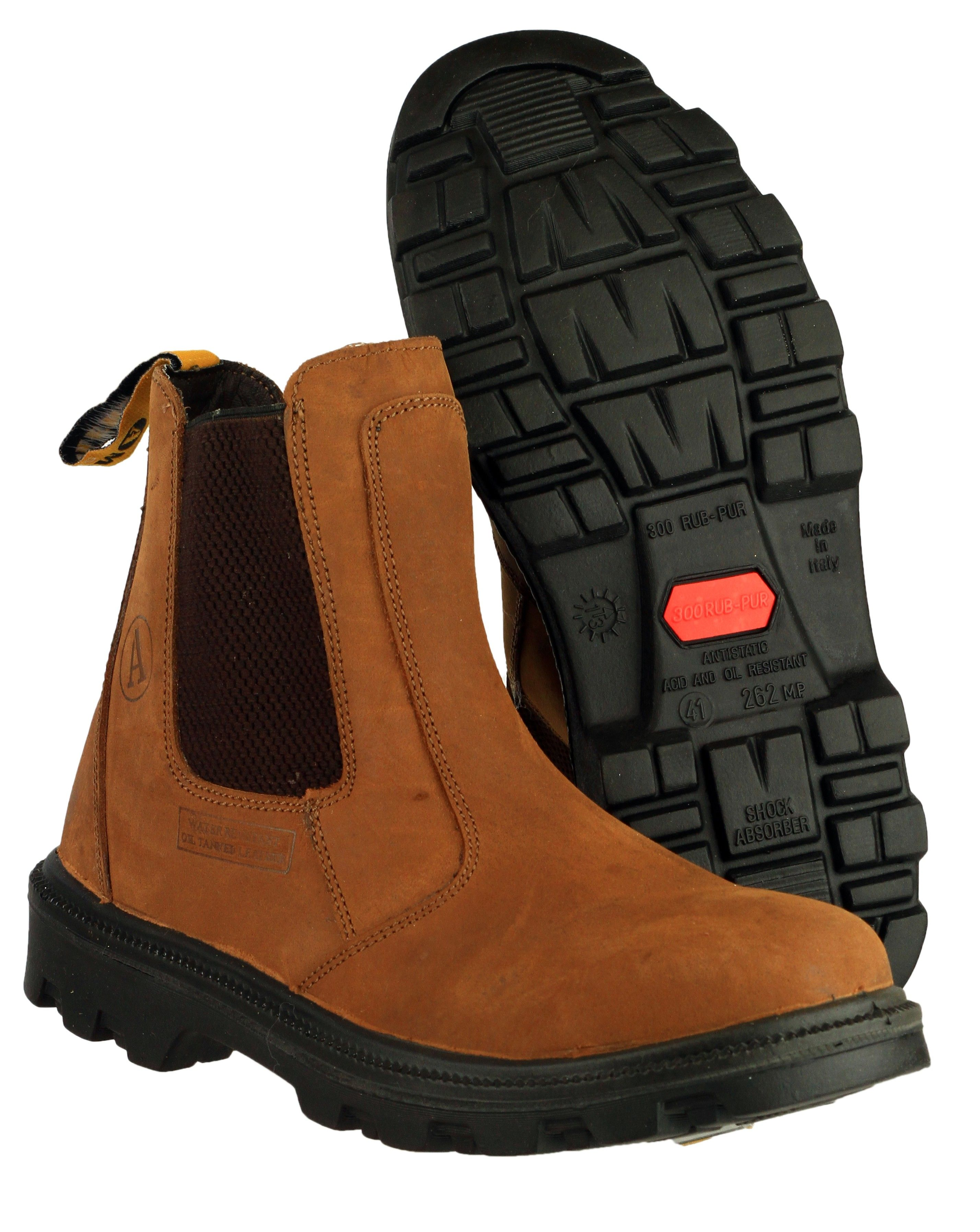 Amblers Safety FS131 Men's Dealer Boot. Steel toe cap and