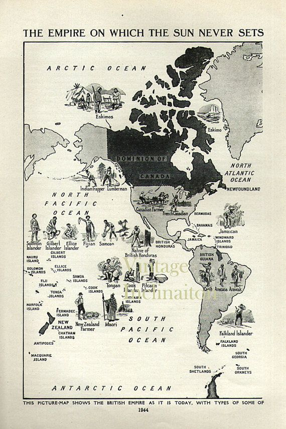 Vintage world map british empire 1950s by vintageinclination vintage world map british empire 1950s by vintageinclination gumiabroncs Choice Image