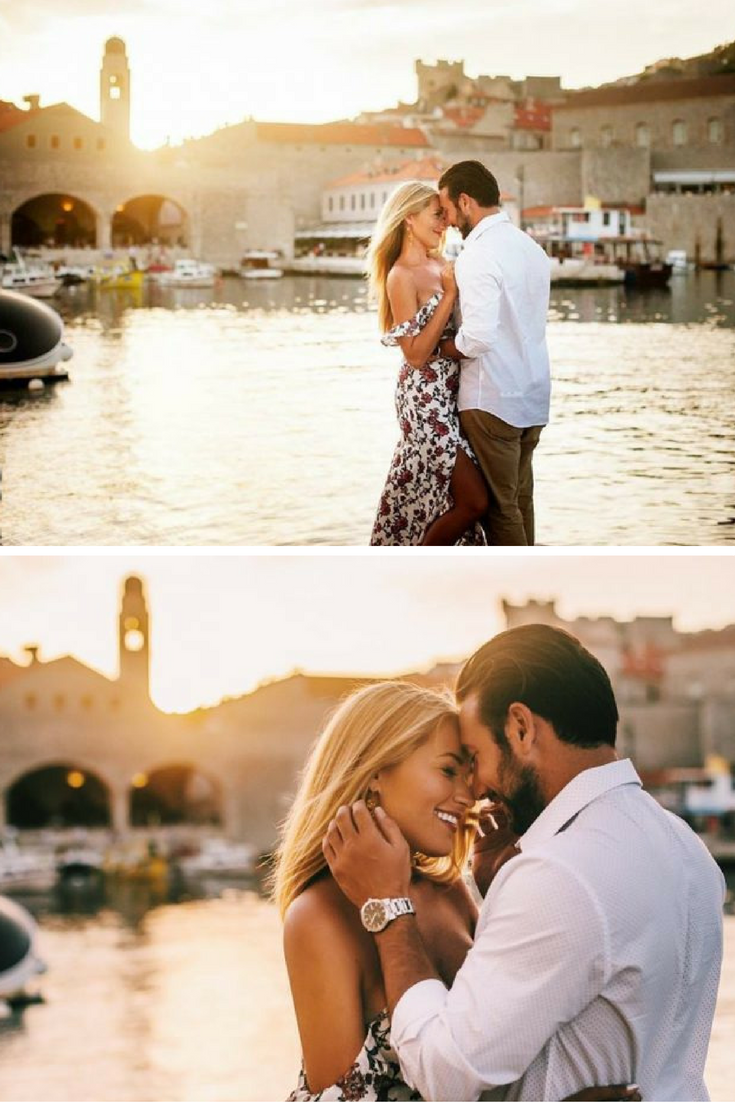 He asked her to marry him in her home country, Croatia, and the proposal video has us in tears!