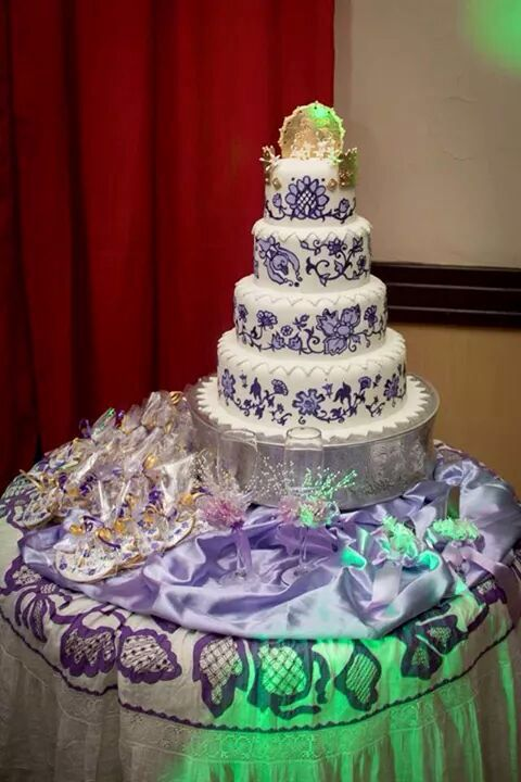 el pastel de la pollera de panamá   comida   pinterest   boda