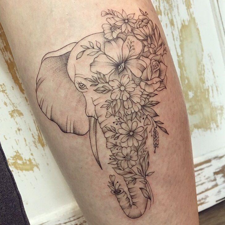"""Gabriella Machado on Instagram: """"O elefante é um animal grande e forte porém com um temperamento calmo. Desta forma, representa a força, a empatia e a compaixão 🌷💕 Obrigada…"""""""