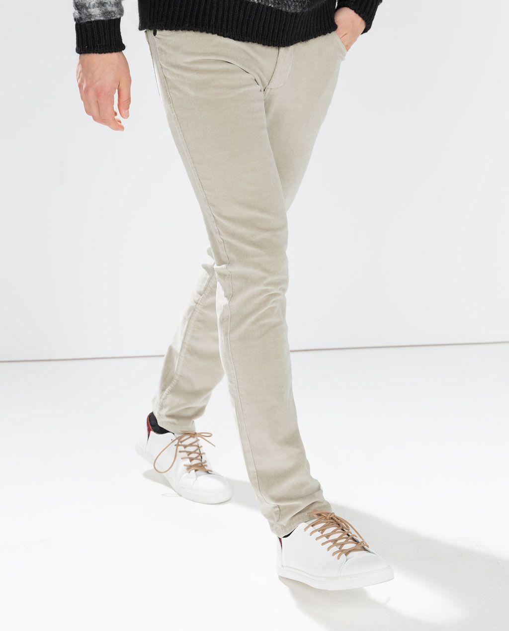 Imagen 3 de PANTALÓN 3 BOLSILLOS PANA de Zara | Moda hombre