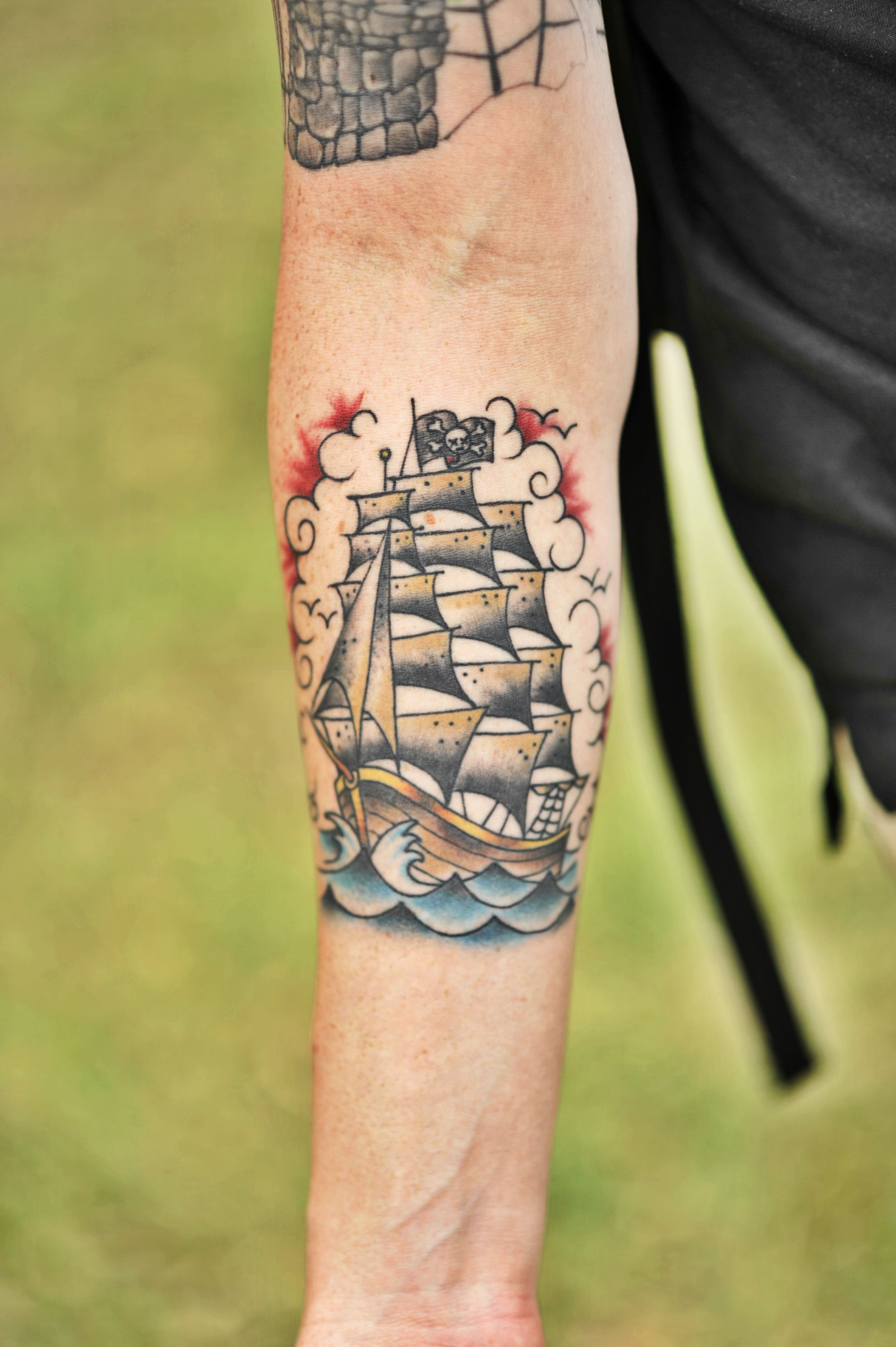 Pirate Flag Tattoo