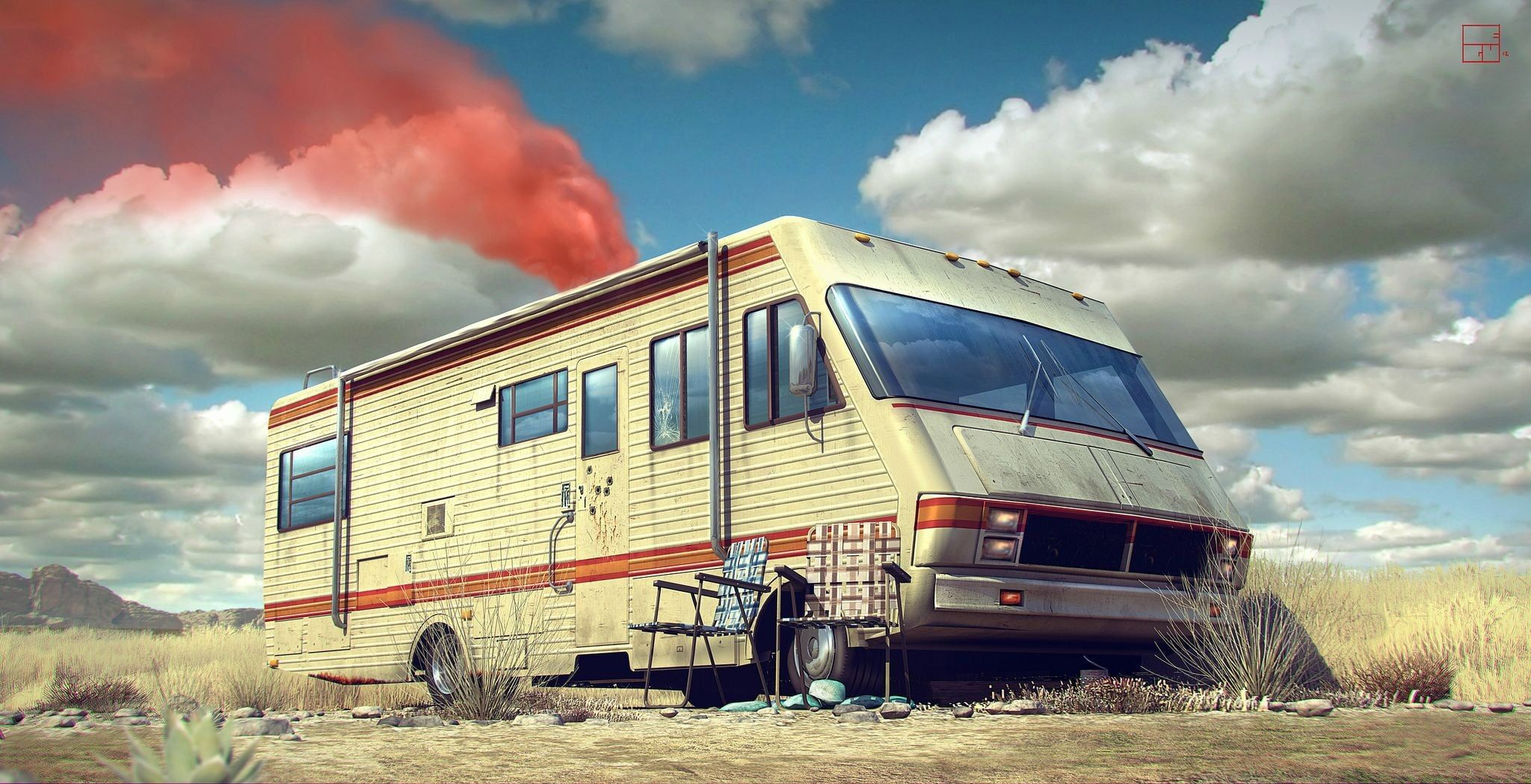 Breaking Bad Rv Tv 1080p Wallpaper Hdwallpaper Desktop Breaking Bad Breaking Bad Tv Series Recreational Vehicles