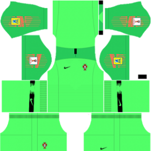Portugal World Cup Kits 2018 Dream League Soccer In 2020 World Cup Kits World Cup Goalkeeper Kits