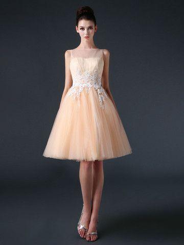 Knee Length Prom Dress - Ocodea.com