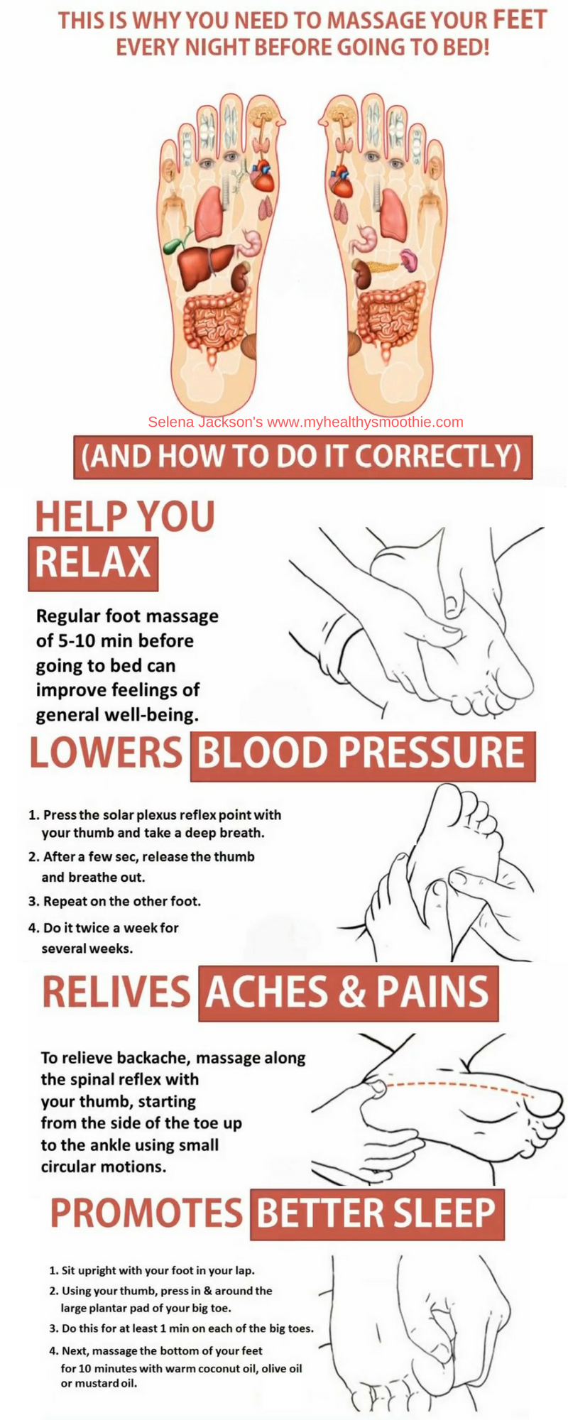medium resolution of how to massage your feet properly and all the health benefits that come from it massages can help you relax sleep better lower blood pressure