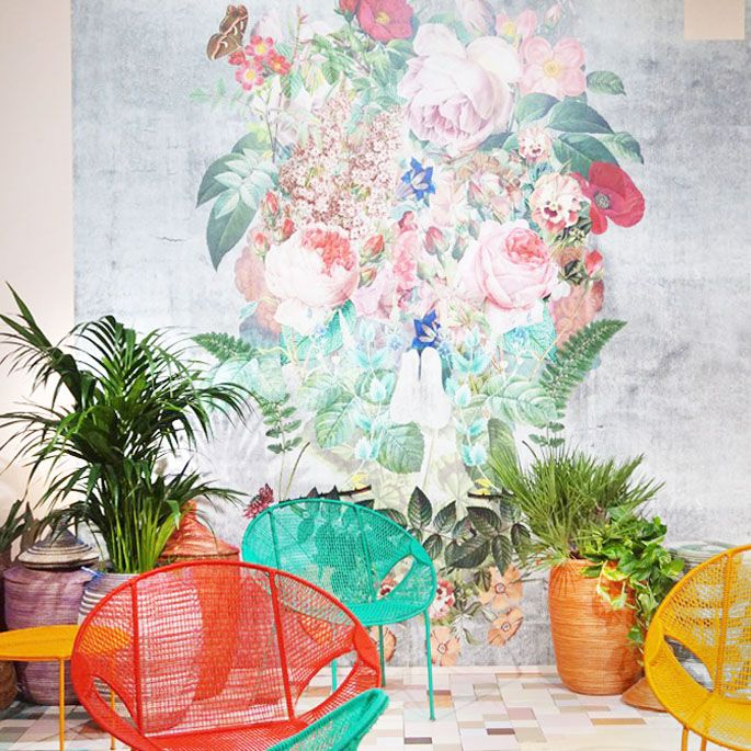 Trends and colours from Habitare fair in Helsinki   3d wallpaper and ...
