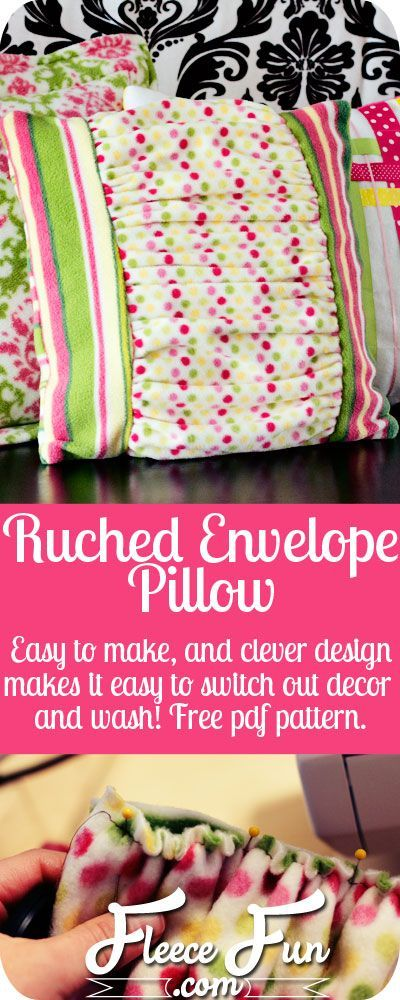 Ruched Pillow Tutorial | Perfect christmas gifts, Pdf and Christmas ...