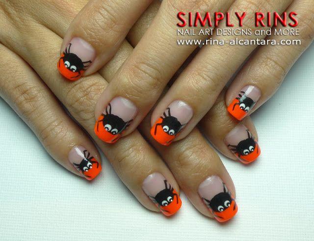 30 Awesome Halloween Nail Art Ideas | Fun nails, Animal nail art and ...