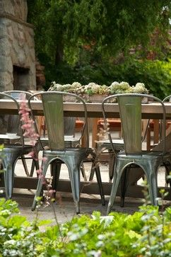 Montecito Exterior - eclectic - patio - santa barbara - Jessica Risko Smith Interior Design