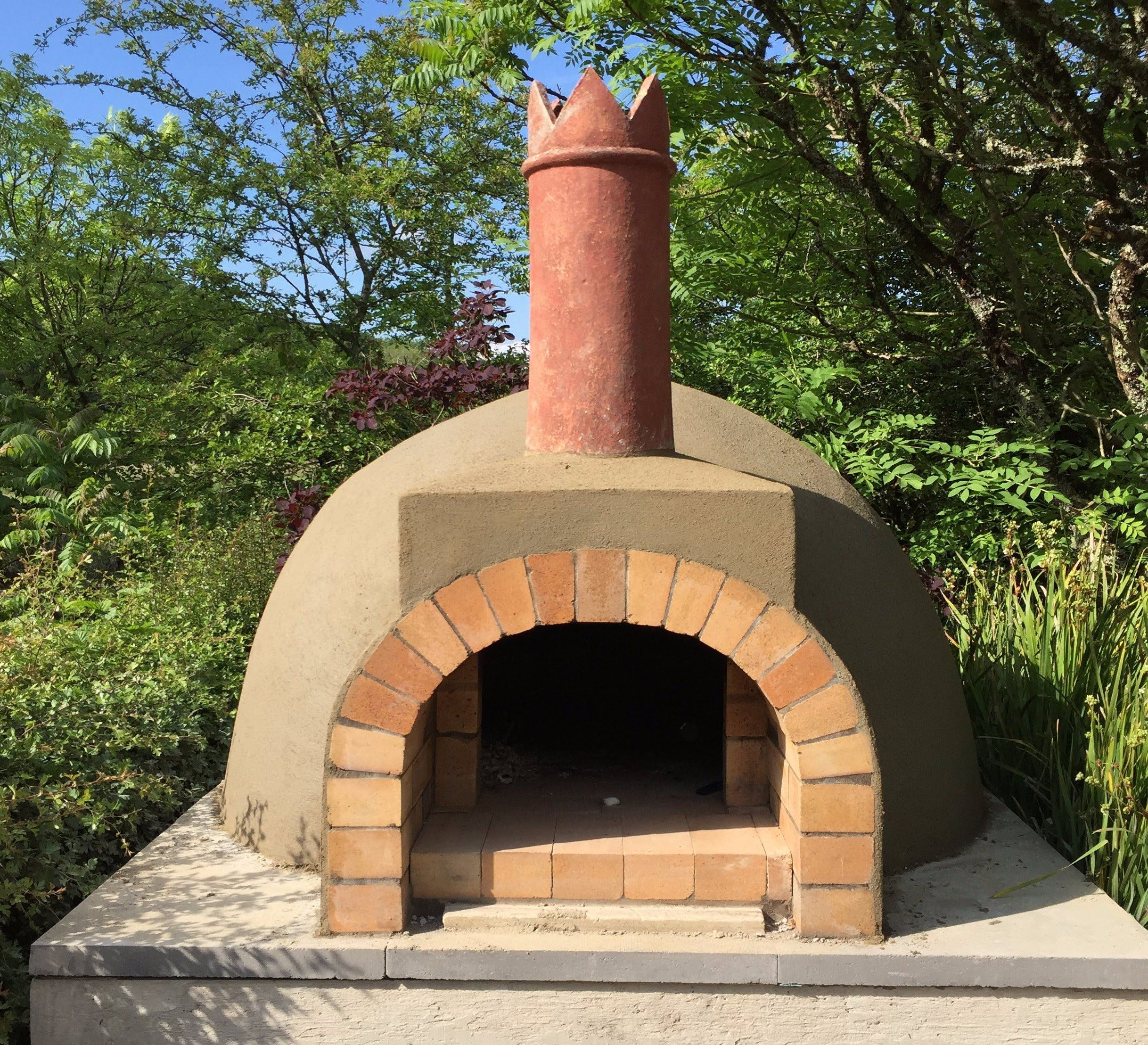 Chimeneas Exteriores Pizza Oven Construction Diy Horno Parrilla Horno