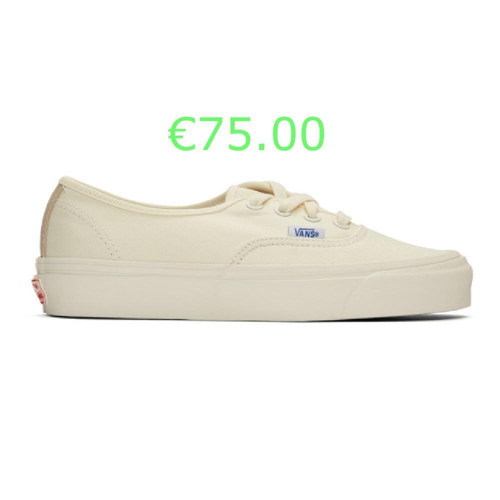 Vans Baskets blanc casse OG Authentic LX in 2020 | Vans, Sneakers ...