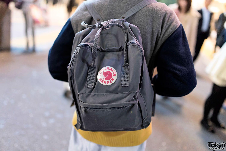 kanken backpack tumblr