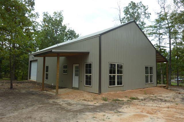 how One Man Built His Pole Barn House Pole Barn House