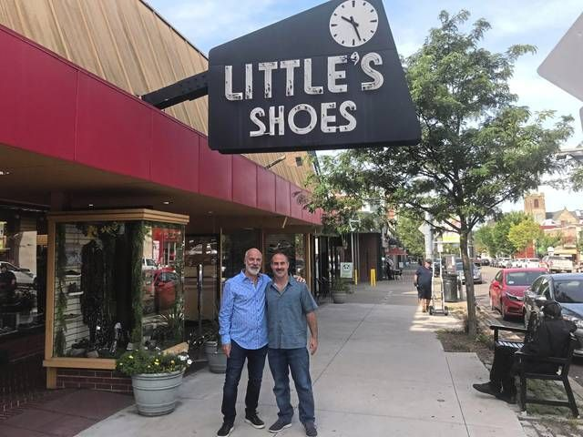 Vintage Little/'s Shoe Store Horn Forbes Pittsburgh PA