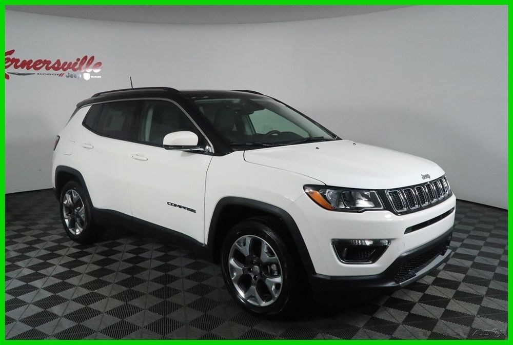 2018 Jeep Compass Limited FWD AISIN I4 SUV Sunroof Heated
