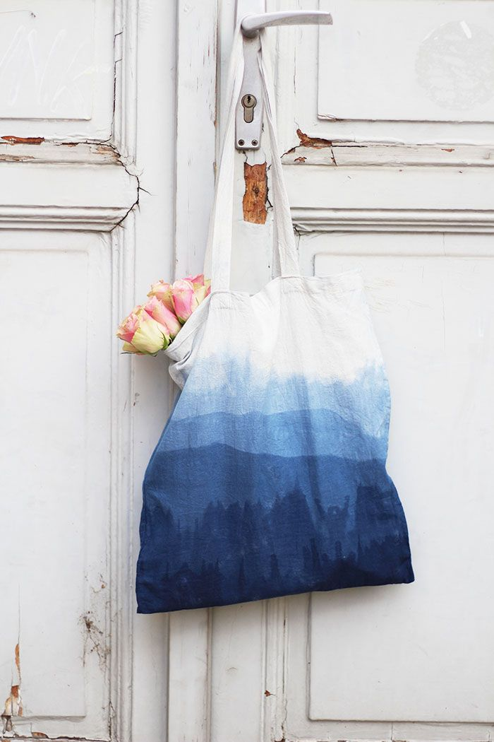 Photo of Do It Yourself: Make your own ombre cloth bag – provincial children