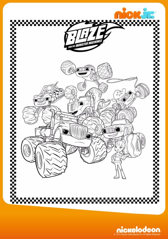 Pin de LMI KIDS en Blaze & the Monster Machines   Pinterest