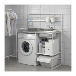 IKEA   SUNNERSTA, Miniküche, Spüle Aus Edelstahl, Einem Hygienischen,  Robusten Und Pflegeleichten