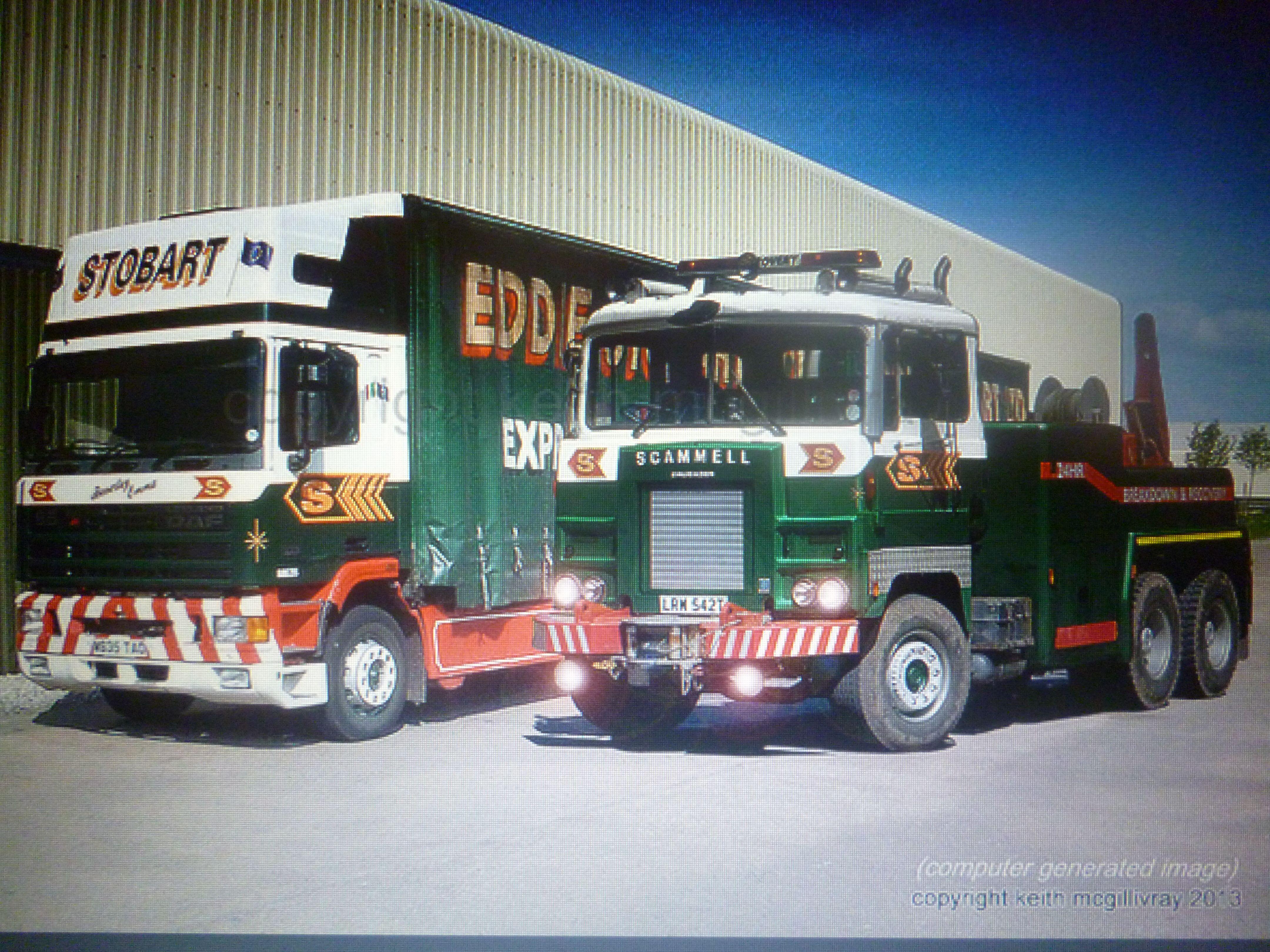 Old eddie stobart trucks