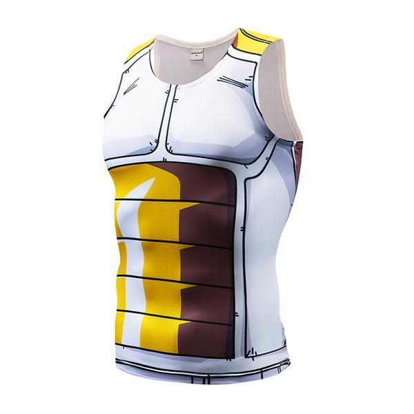 c2b9a85fc8f6d Saiyan armor 3d tanktop dbz dragon ball shirt