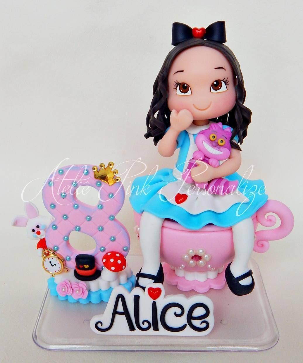 Apliques Alice No Pais Das Maravilhas No Elo7 Chez Biscuit