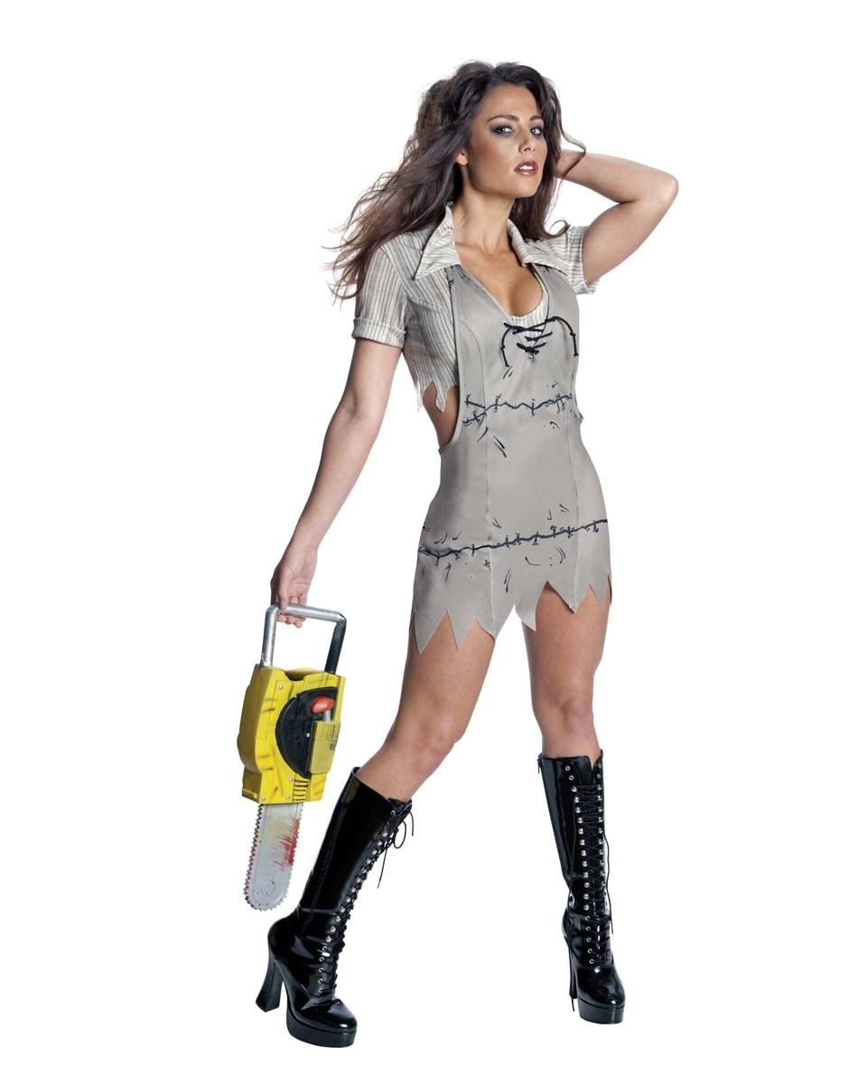 texas chainsaw massacre miss leatherface adult womens costume spirit halloween